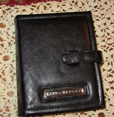 Longaberger Purse Accessory BLACK Photo Book  NEW