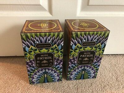 Patron Tequila Limited Edition Collector Tin Boxes