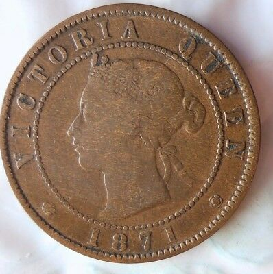 1871 PRINCE EDWARD ISLAND (CANADA) CENT - Rare Coin - Lot #714