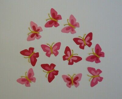 6 Purple Butterfly Die Cuts  ~ Embellishment Scrapbooking ~Butterflies Insects