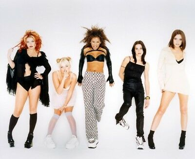 The Spice Girls Pop Music Girl Group 10x8 Poster Print