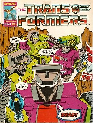THE TRANSFORMERS # 61 / 17th MAY 1986 / MARVEL UK COMIC  / V/G / VERY RARE