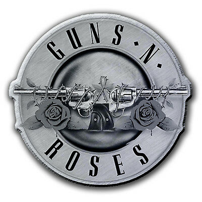 Guns N Roses Bullet Logo Metal Pin Button Badge Official Band Merch New
