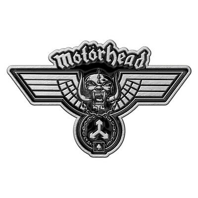 Motorhead Hammered Metal Pin Button Badge Official Rock Band Merch