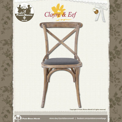 CLAYRE & EEF | 5H0341 | Sedia - Chair | Shabby chic