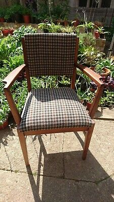 Lovely Vintage Antique Gordon Russell of Broadway Carver/office/Occasional chair