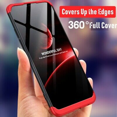 OPPO A3s AX5 A73 R17 R15 R9s Shockproof 360 Full Case Ultra thin Cover Tough