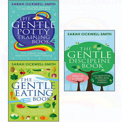 Sarah Ockwell Smith Collection 3 Books Set Gentle Potty Training, Eating Book