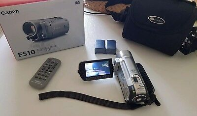 Canon FS10 Digitaler Video Camcorder SD HC 8GB 45x Zoom