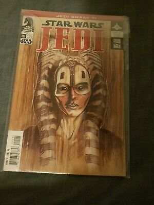 Dark Horse Comic STAR WARS JEDI Shaak TI NM