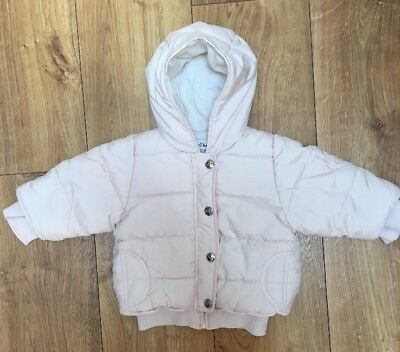 💕BABY DIOR GIRLS Puffer Padded JACKET Coat 3 MONTHS💕