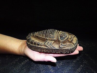 EGYPTIAN ANTIQUES  ANTIQUITIES Scorpion Selket Serket Sculpture 3200-3101 BC
