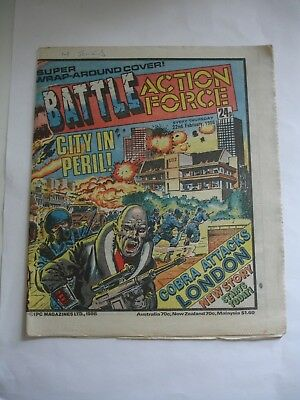BATTLE ACTION FORCE comic 22nd February 1986 ~