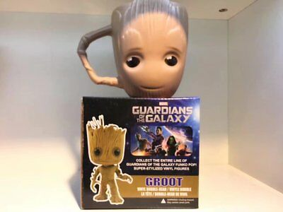Marvel Guardians of the Galaxy Baby Groot Coffee Tea Mug Cup with Lid Xmas Gift