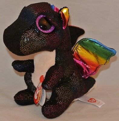 "New! 2018 Ty Beanie Boos ANORA the Dragon 6"" size"