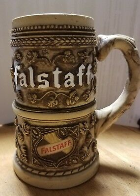Falstaff Beer Display Stein