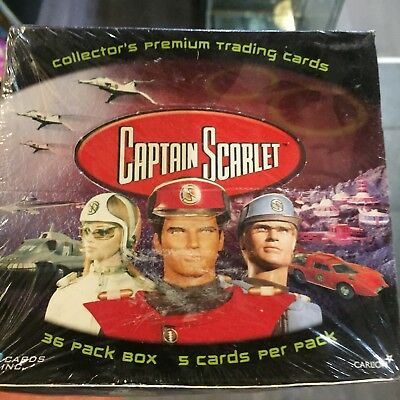 2002 Captain Scarlet Trading Cards Sealed Box Cards Inc BNISB Gerry Anderson