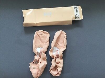 Bloch Pro-Elastic Canvas Dance Shoes, 7.5, pink