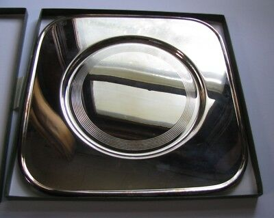 Christofle BABYLONE Silverplate Serving Tray Underplate Charger New in Box Italy