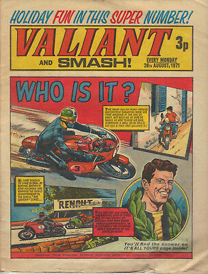 Valiant and Smash comic 28th August 1971