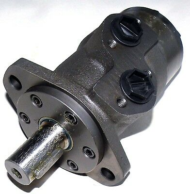 Hydraulic Orbital Motor 80 cc/rev Straight Keyed Shaft 25 mm Side Ports G1/2