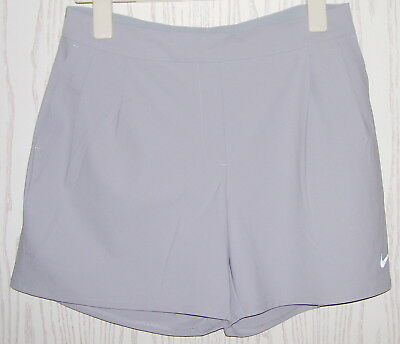SSV * NIKE GOLF Damen Bermuda Short hell grau Gummizug viel Stretch