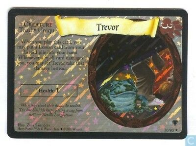 Harry Potter Quidditch Cup Foil Card *Trevor* TCG CCG