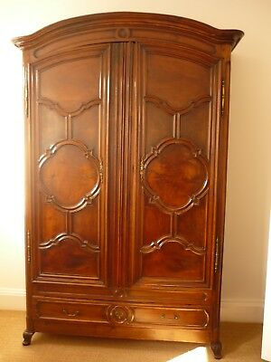 French Antique Louis XV Armoire