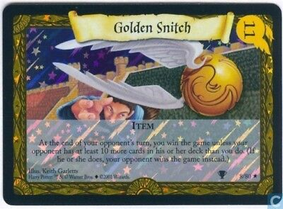 Harry Potter Quidditch Cup foil card *Golden Snitch* TCG CCG