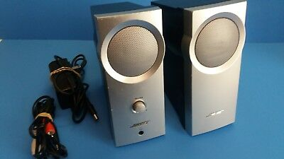 Bose Companion 2 Series I Multimedia Speaker System (Silver) | Computer Speakers