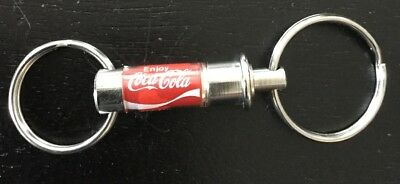 Coca-Cola Item Vintage Coke Double Ring Key chain Holder