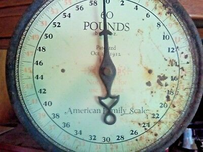 Vintage American Family Hanging Scale COOL