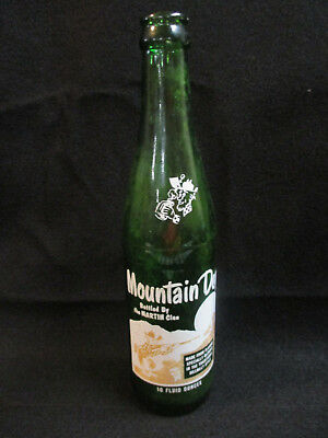 Mountain Dew Bottle Filled  Bottled by The Martin Clan