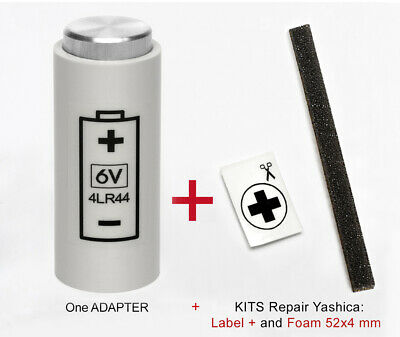 ADAPTER + ADHESIVO for YASHICA ELECTRO 35, GL, GSN, GTN,GT,,G,GS, AX SLR and MG1