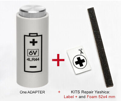 ADAPTER + KIT: for Yashica Electro 35, GL, GSN, GTN,GT,,G,GS, AX SLR and MG1