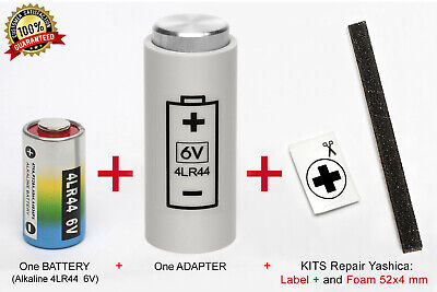 ADAPTER + ONE BATTERY for YASHICA ELECTRO 35, GL, GSN, GTN, GT, AX SLR y MG-1