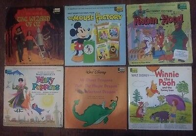 Disneyland Records And Misc. Lot of 23 LP's . Mostly Storybook Sleeves