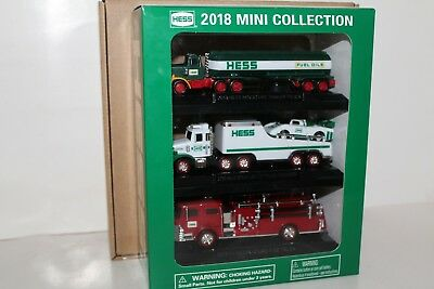 2018 Hess Toy Miniature Truck Mini Collection New in Box Sold Out Fast Shipping