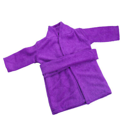 Dolls Clothes Purple Night-robe Fit 18'' American Girl Our Generation Doll