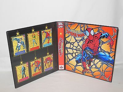 Custom Made The Amazing Spider Man Trading Card Binder Graphics Only