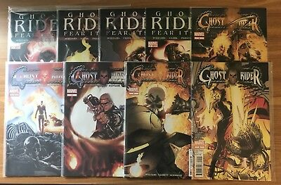 Ghost Rider 1-9 VF/NM Complete Series!! Check Ot Out!!
