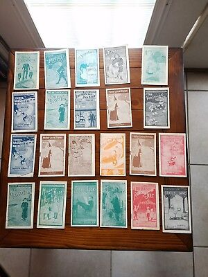 Antique Faultless Starch Library Advertising Set Of 22 Very Nice Condition