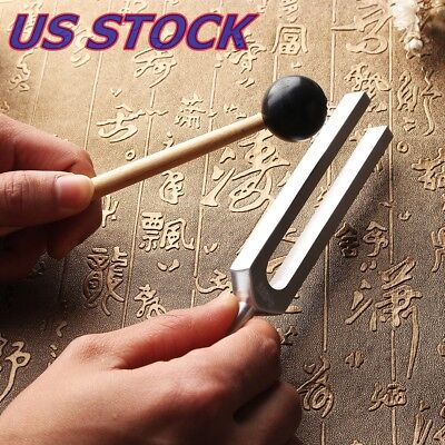 528Hz Medical Tuning Fork Chakra Hammer Sound Healing Therapy Diagnostic with Ma