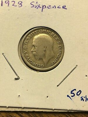 1928 and 1947 United Kingdom Sixpence