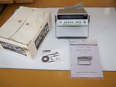 LEADER LDC-822 Digital Frequency Counter Very Good Condition