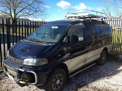 1997 MITSUBISHI DELICA LWB LONG WHEEL BASE 2.8TD SWB EXCEED BREAKING for PARTS