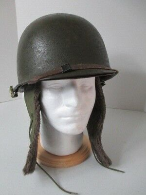 "WW2 Korea US M1 Helmet RS SB  ""S"" Schlueter Pot Firestone Liner CARR strap MORE"