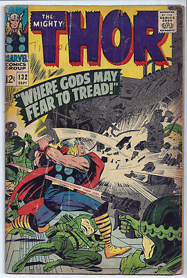 THE MIGHTY THOR #132: Silver Age: Sep-1966: 1st appearance Ego The Living Planet