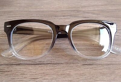 860b13330899 1.50 STEVE MADDEN READING GLASSES Square Black/Clear!! - $10.99 ...