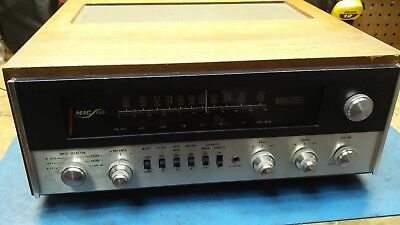 McIntosh MAC1700 1700 Stereo Receiver with Wood Case (Professionally Serviced)